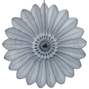 grey paper flower hanging paper decorations