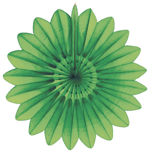 light green paper flower hanging paper decorations