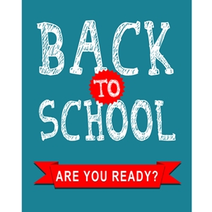 22x28 Back to School poster