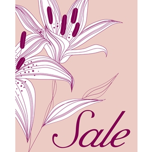 22x28 Spring Sale Poster