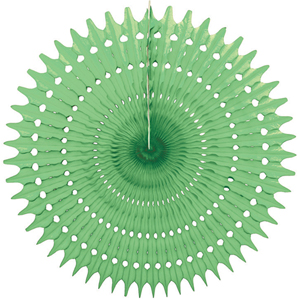 lime paper starburst hanging paper decorations