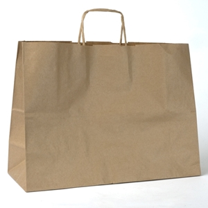 Imprinted Paper Shopping Bags 16x6x12