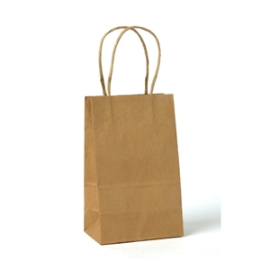 Imprinted Paper Shopping Bags 5.25x3.25x8