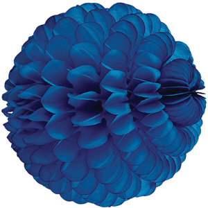 blue paper sphere hanging paper decorations