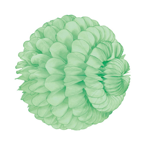 lime paper sphere hanging paper decorations
