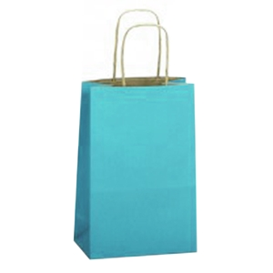 "5-1/2"" x 3-1/4"" x 8-3/8"" Paper Shopping Bag"