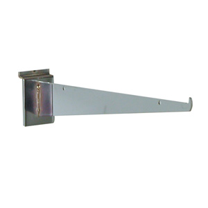 Shelf bracket 10 inch chrome