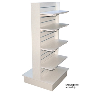 Slatwall unit tower maple