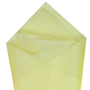 Lt. Yellow tissue