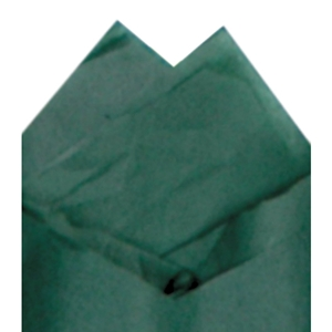 Forest green tissue