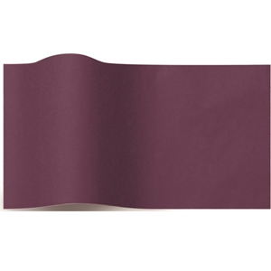 Solid color eggpant tissue paper