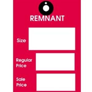 Remnant Tag Bulk Pack