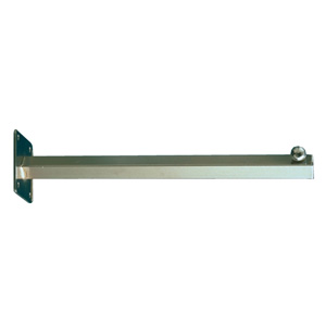 Wall mount straight arm