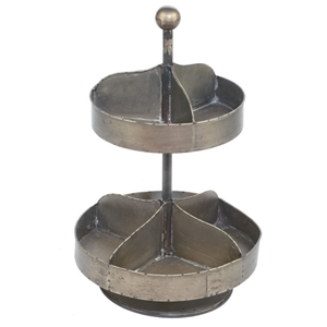 2 Tier Industrial Rotating Tray