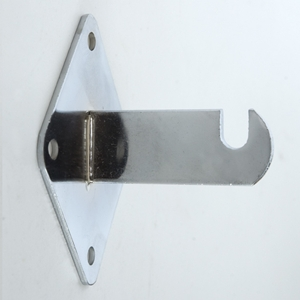 Grid wall bracket chrome