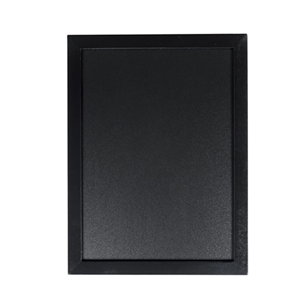 "Securit® Woody chalkboard 11-3/4"" W x 15-3/4"" H"