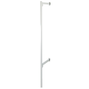 "84"" H Outrigger Upright - White"