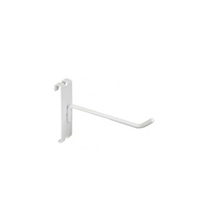 Gridwall hook 6 inch white