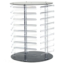 "Revolving earring display holds 180 (2"" cards)"