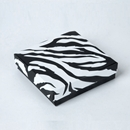 Zebra Jewelry Box Compact