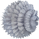 grey paper aztec ball hanging paper decorations