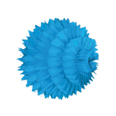 bright blue paper aztec ball hanging paper decorations