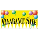 6' x 3' Clearance Sale Banner Hemmed with Grommets and Rope
