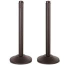 ChainBoss Molded Stanchion - Pre-Filled Black Base