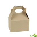"Natural Kraft Gable Box 4"" x 2-1/2"" x 2-1/2"""