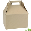 "Natural Kraft Gable Box 9"" x 6"" x 6"""