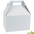 "White krafat gable box 9"" x 6"" x 6"""