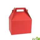 "Red Kraft Gable Box 4"" x 2-1/2"" x 2-1/2"""