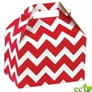 _100,Red Chevron Gable Box