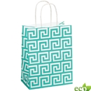 Green Key Shopping Bag