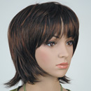 Forte mannequin wig brown