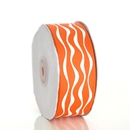 Wavy Orange Ribbon