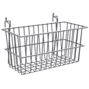 Chrome narrow basket