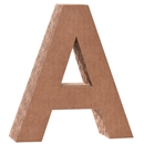 Cardboard Letter A