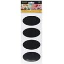 Oval Chalkboard Stickers - Pack of 8