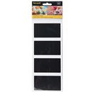 Rectangle Chalkboard Stickers - Pack of 8