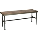 Industrial Piping Rectangular Display Table