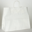 white paper shopping bag16x6x12-1/2