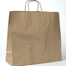 kraft paper shopping bag 16x6x15.5