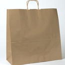 kraft paper shopping bag 18x7x19