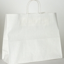 white paper shopping bag 18x7x19