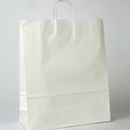 white paper shopping bag