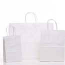 white shopping bag assortment