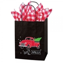 Deck the Halls Paper Shopping Bag