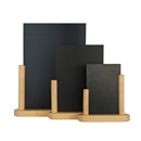 Table Top Chalkboard With Beech Wood Frame