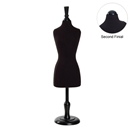 Economy Mini Dress Form Black